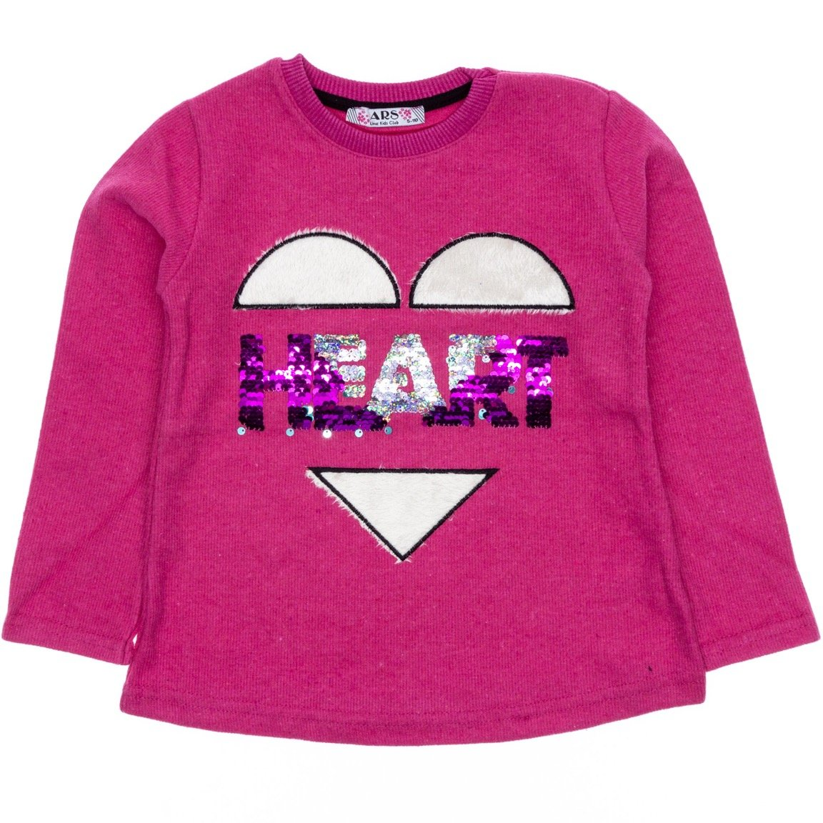 ARS παιδική μπλούζα «Fuchsia Heart»