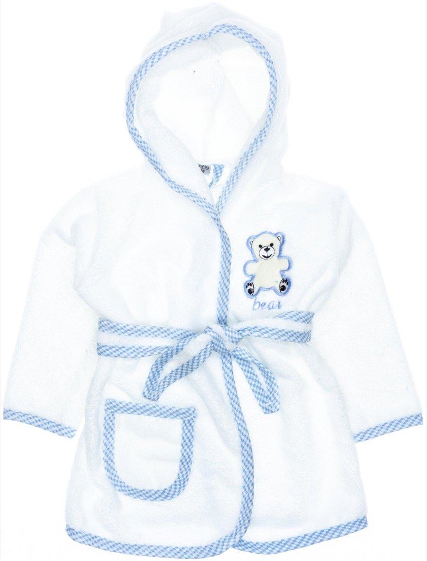 ΑΖ παιδικό σετ μπουρνούζι-πετσέτα-πανάκι μπάνιου «A Bear»