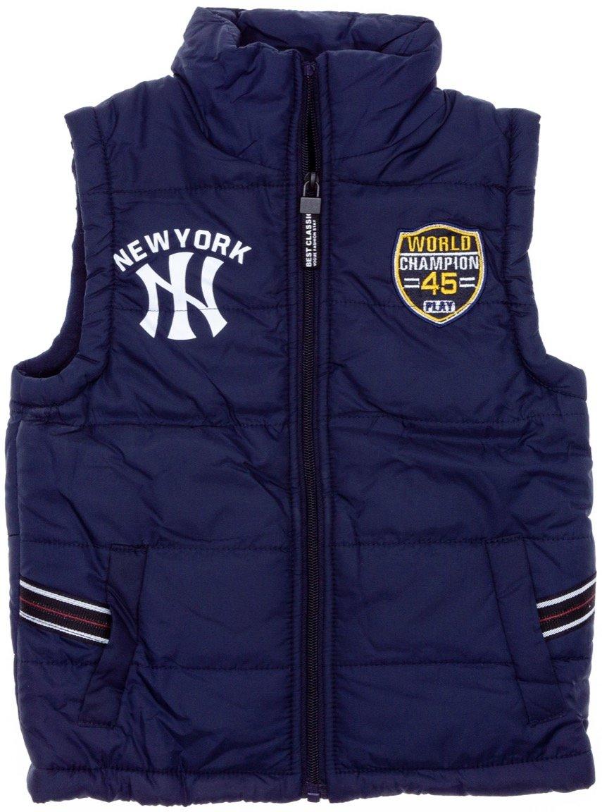 AΖ παιδικό αμάνικο μπουφάν «Blue New York»