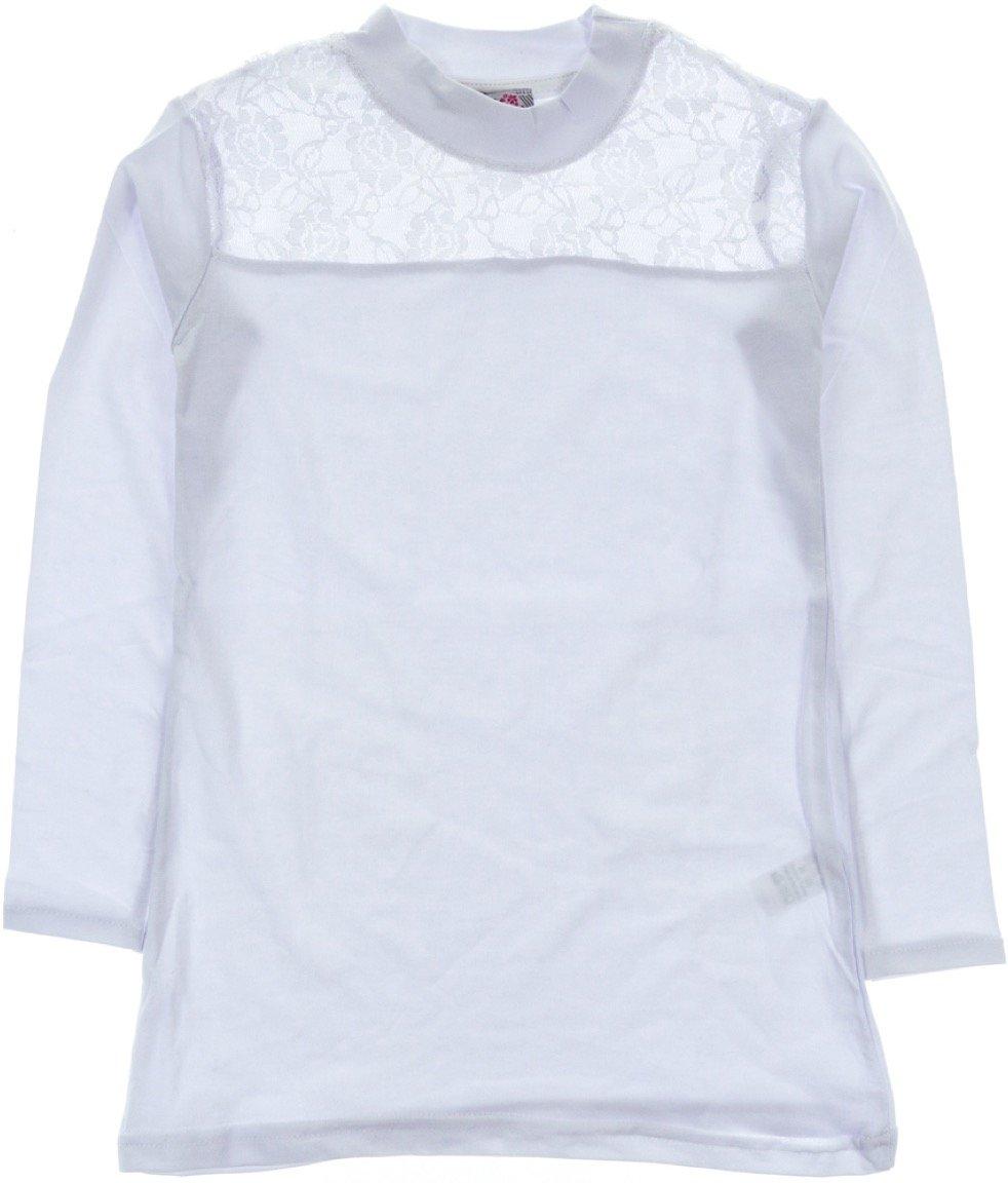 ARS παιδική εποχιακή μπλούζα «White Delicate Lace»