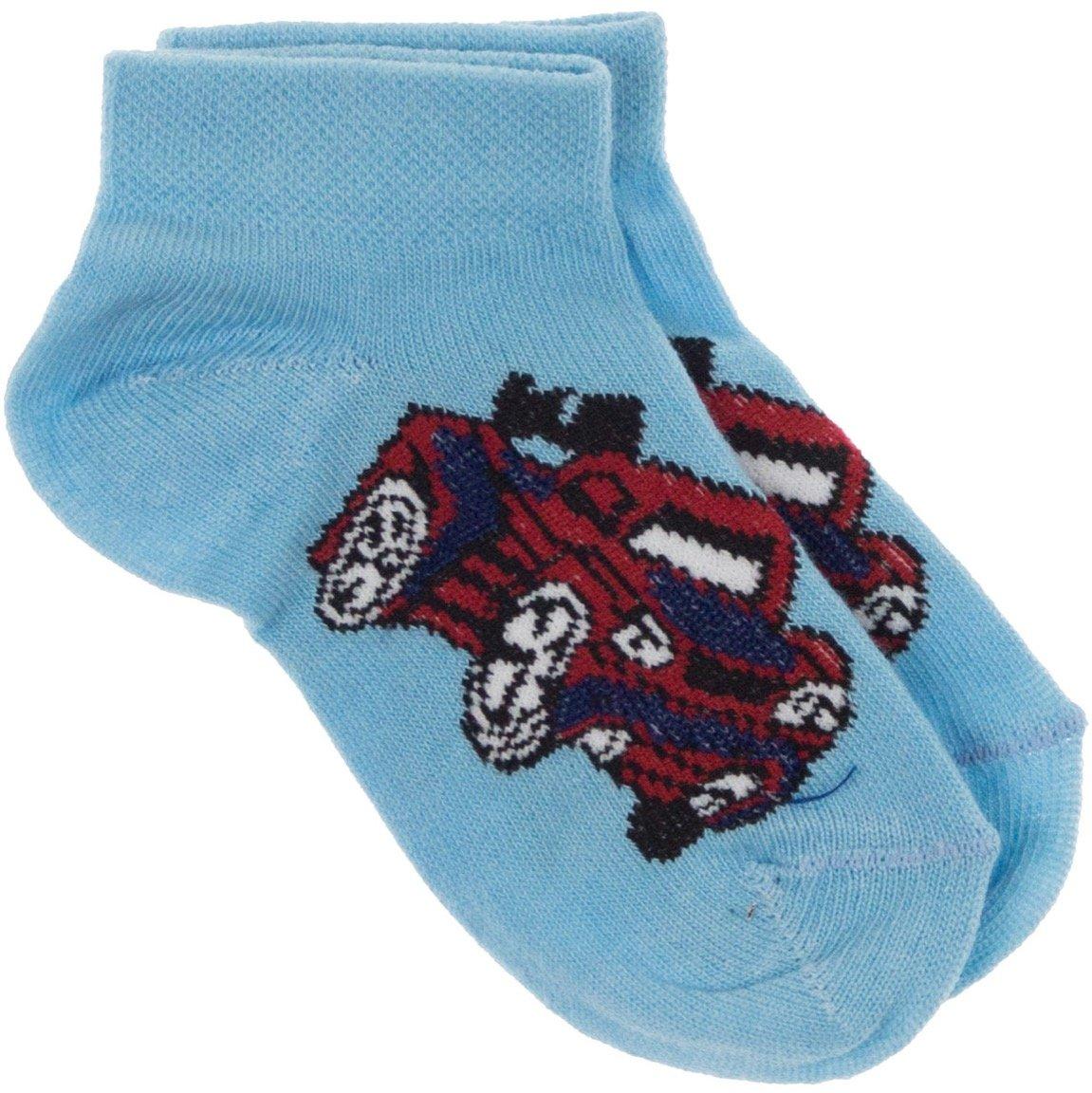 Lateks παιδικές κάλτσες «Blue Sports Car»