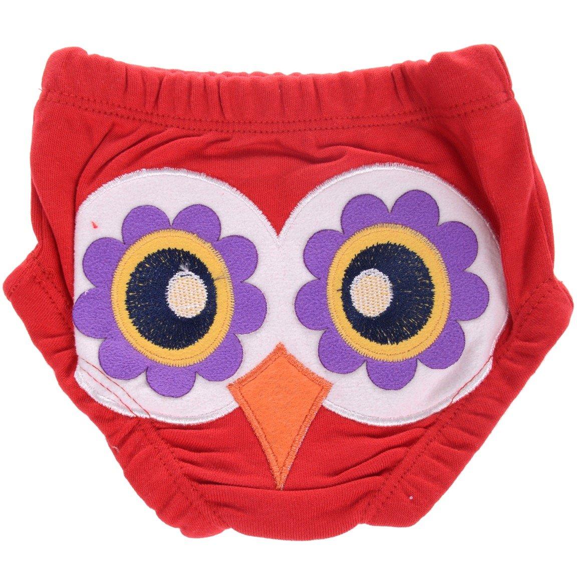Minice βρεφικό σλιπάκι «Red Owl»