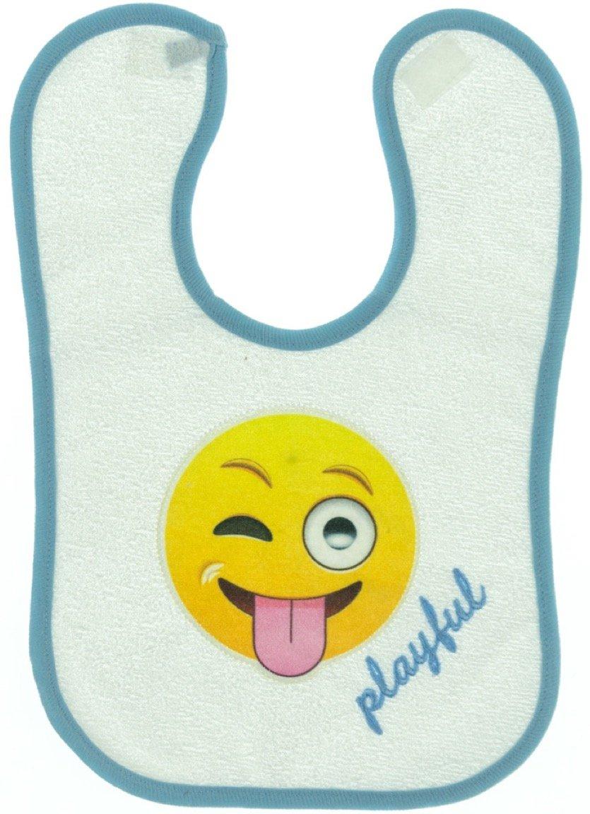 Kedicik βρεφική σαλιάρα φαγητού «Playful Emoticon»