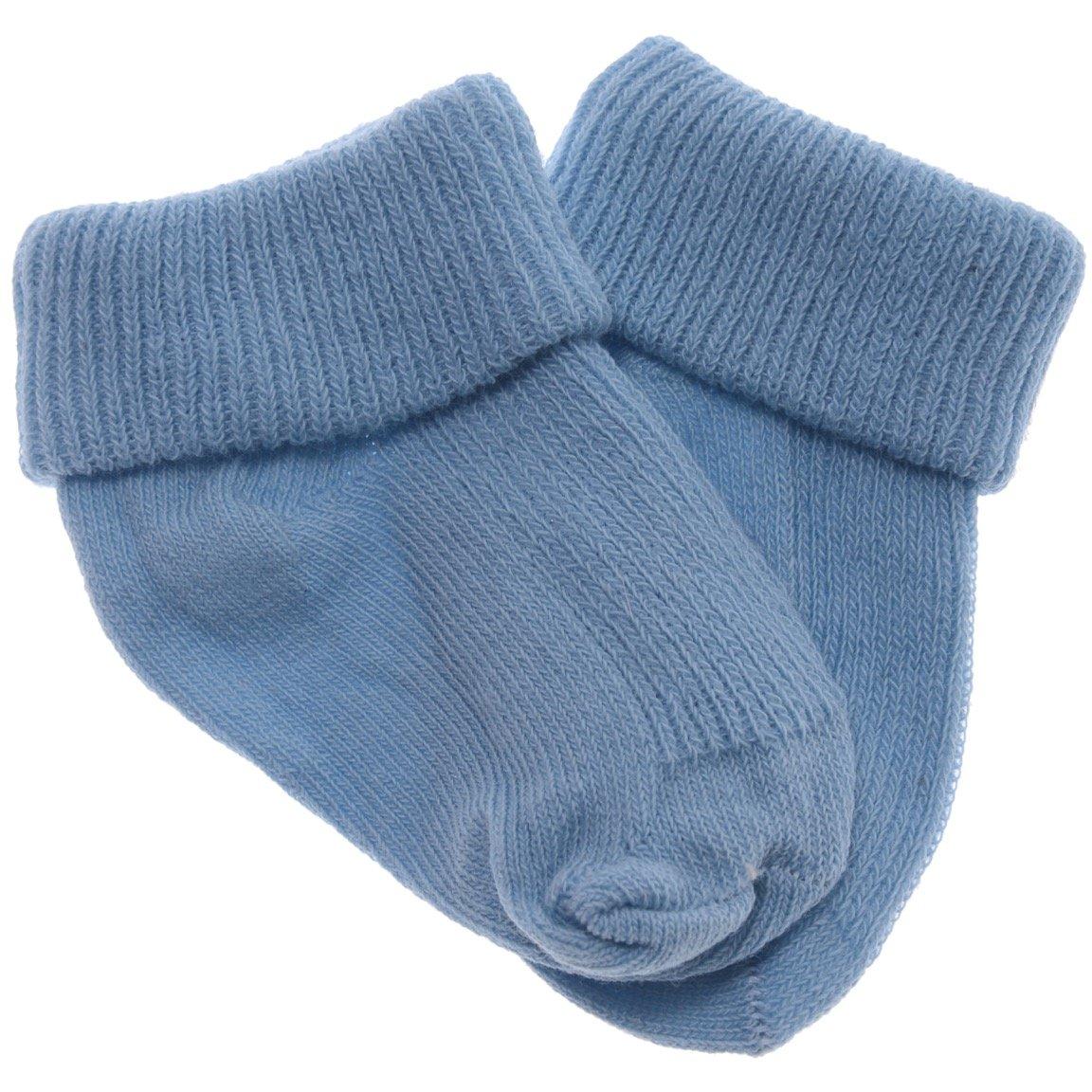 Gul βρεφικές κάλτσες «Two Blue Steps»