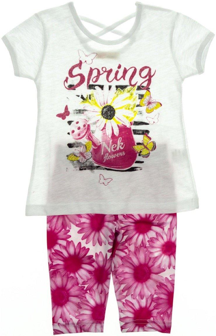 Nek παιδικό σετ μπλούζα-παντελόνι κολάν κάπρι «Spring»