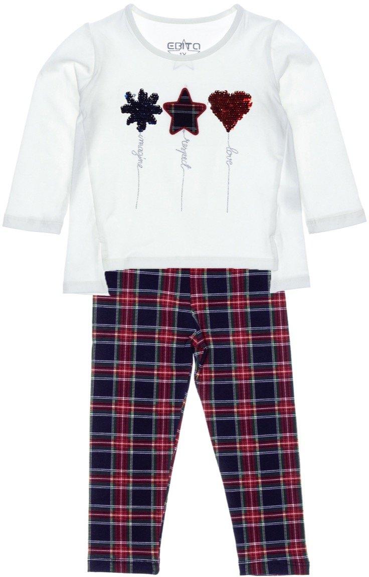 Εβίτα παιδικό εποχιακό σετ μπλούζα-παντελόνι κολάν «Imagine»