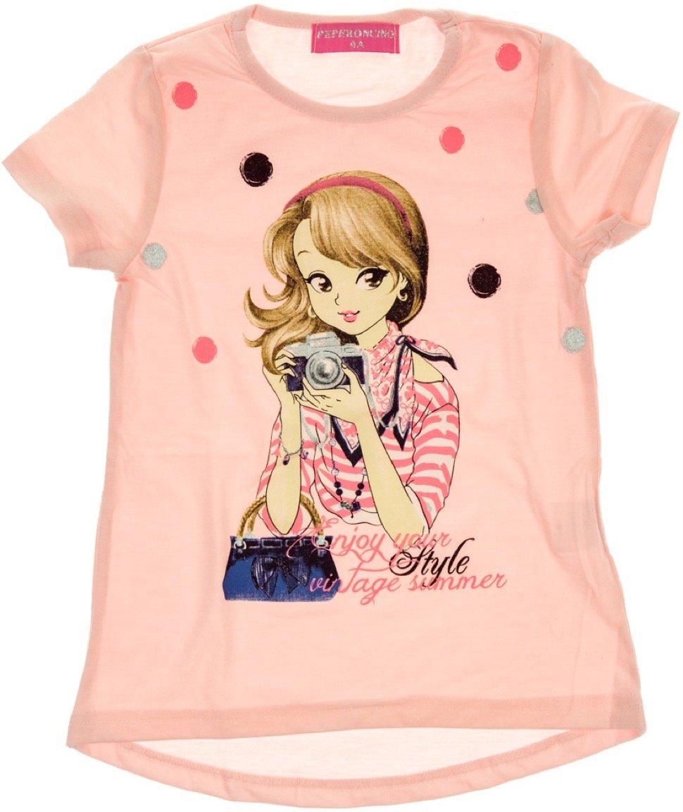 Peperoncino παιδική μπλούζα «The Vintage Summer»