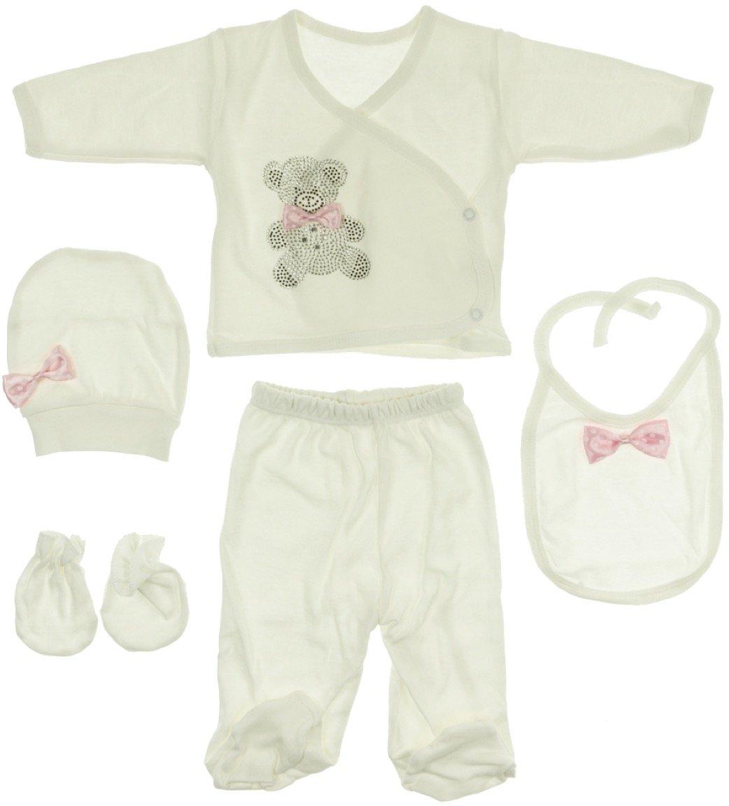 Babybiss βρεφικό εποχιακό σετ δώρου πέντε τεμαχίων «Teddy»