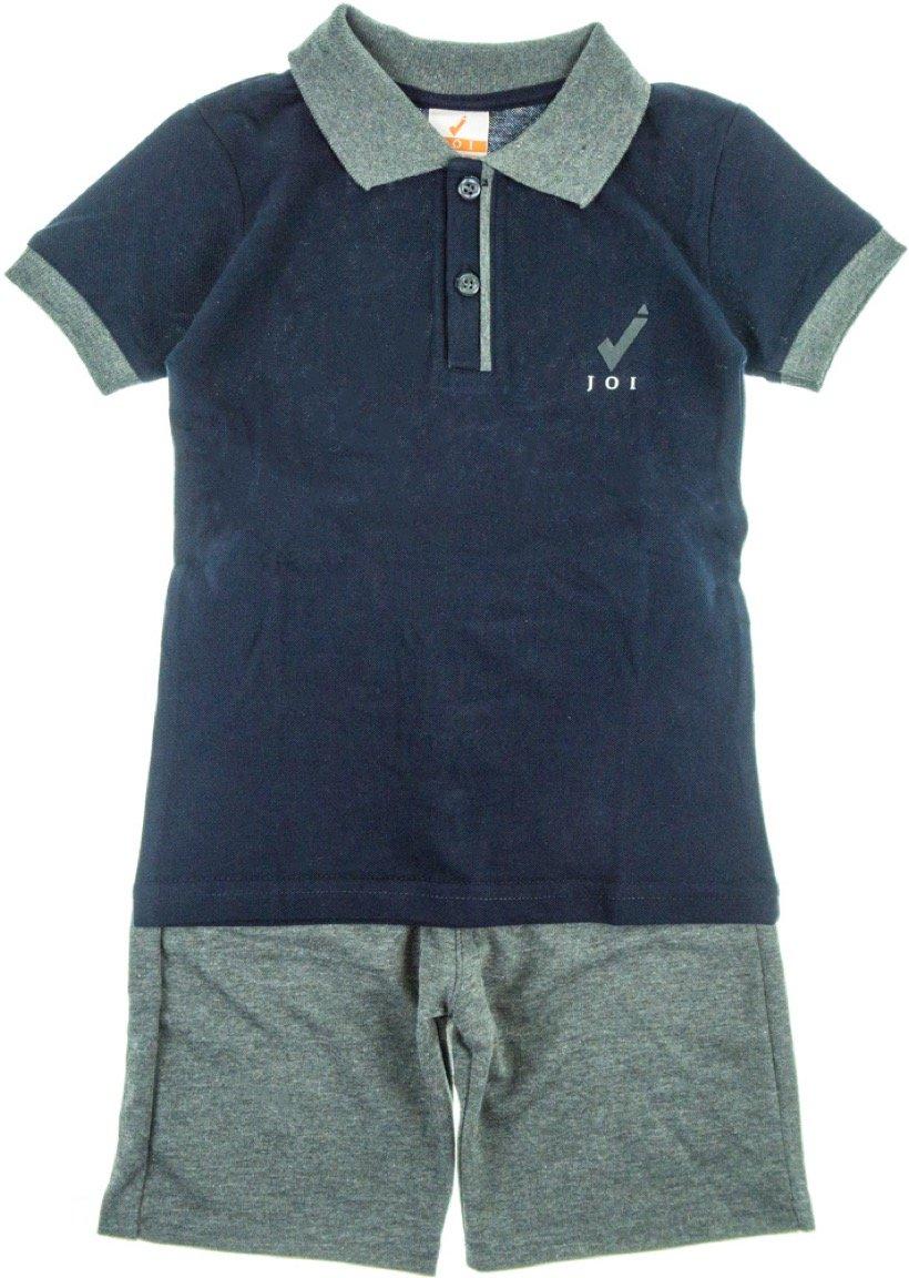 Joi παιδικό σετ μπλούζα-παντελόνι βερμούδα «Blue Polo»
