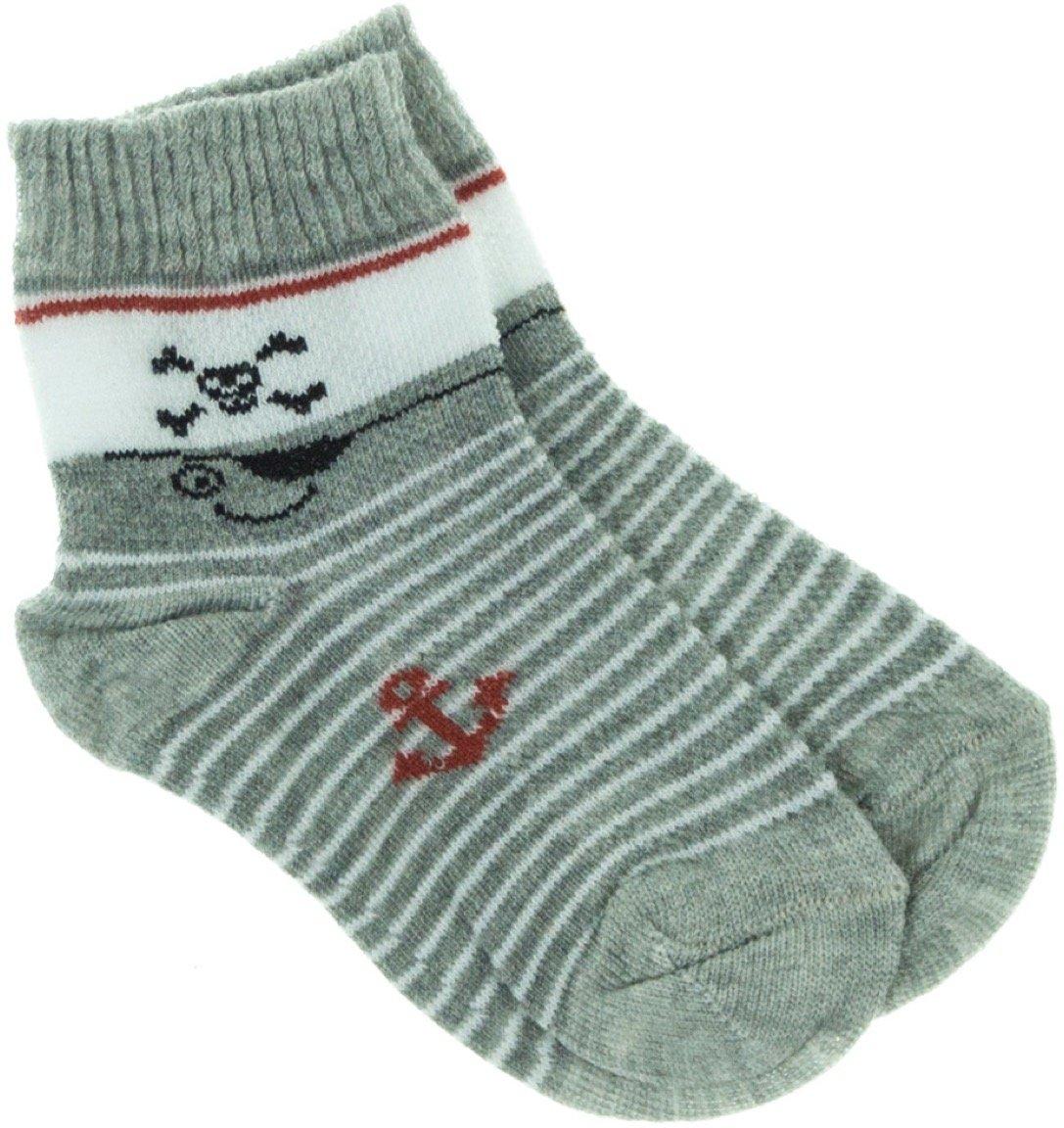 Bella Calze παιδικές κάλτσες «Grey Pirate»