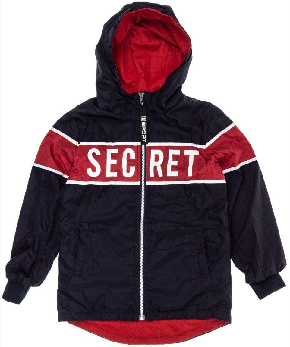 Sweet Junior εποχιακό μπουφάν διπλής όψης «The Secret»
