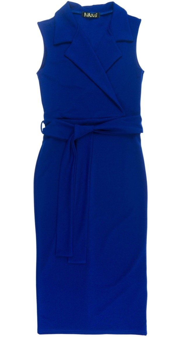 "Nikka γυναικείο φόρεμα ""Blue Liking"""