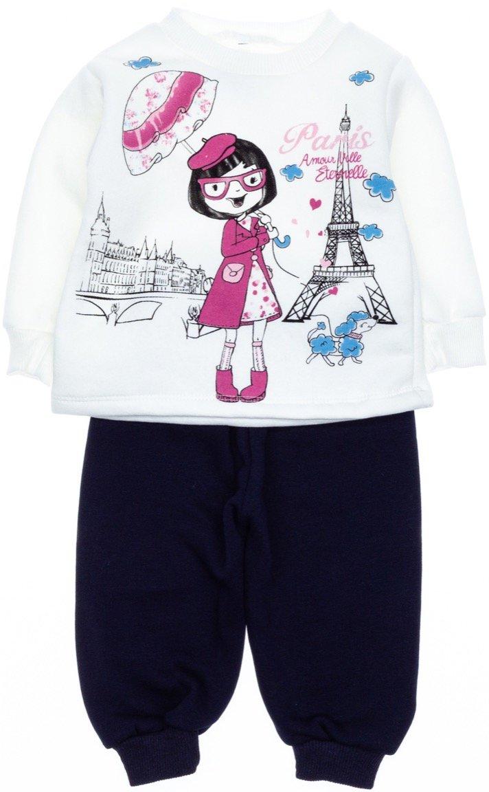 AZ βρεφικό σετ φόρμα μπλούζα-παντελόνι «Amour»