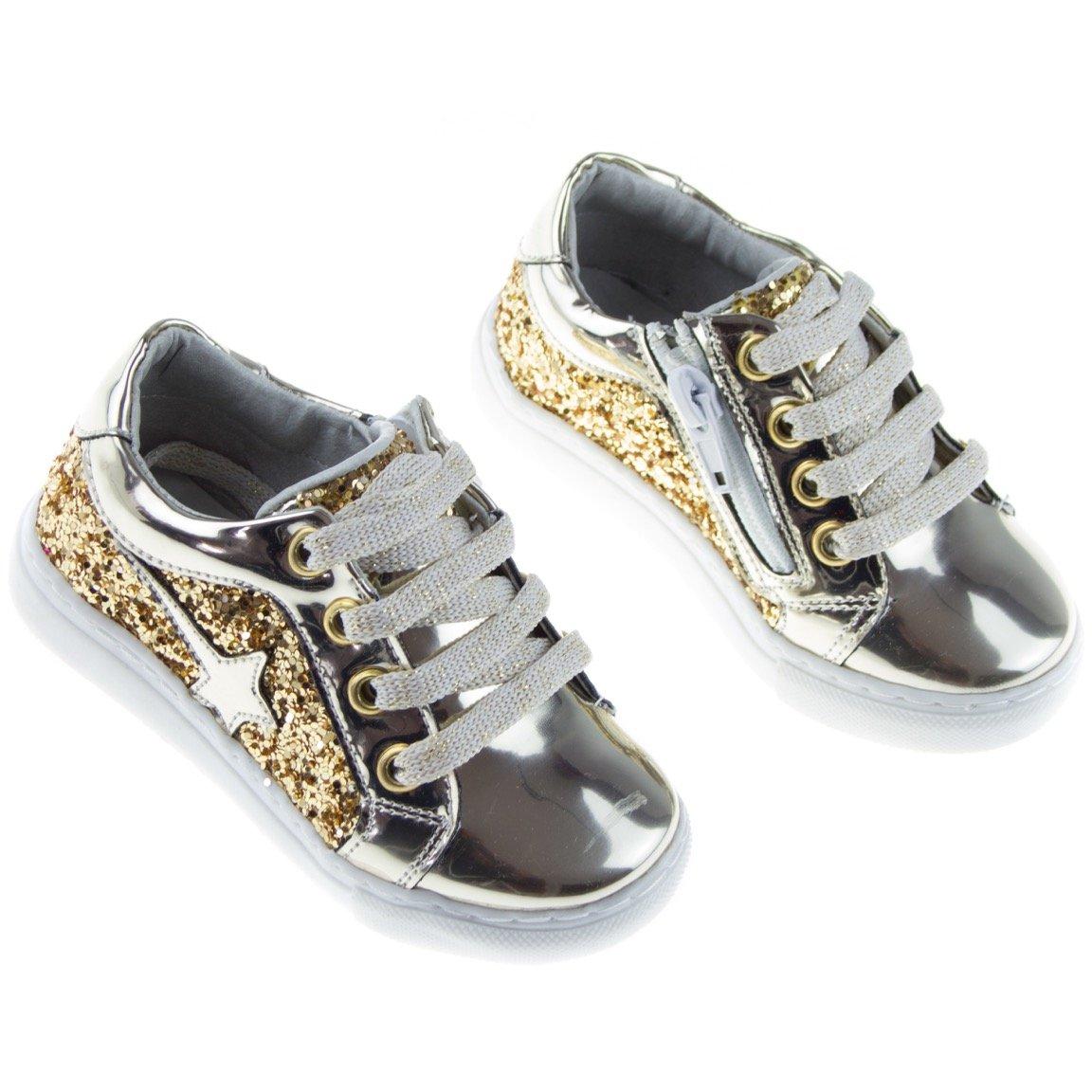 Miss Brava-Harli παιδικά παπούτσια «Golden Star»