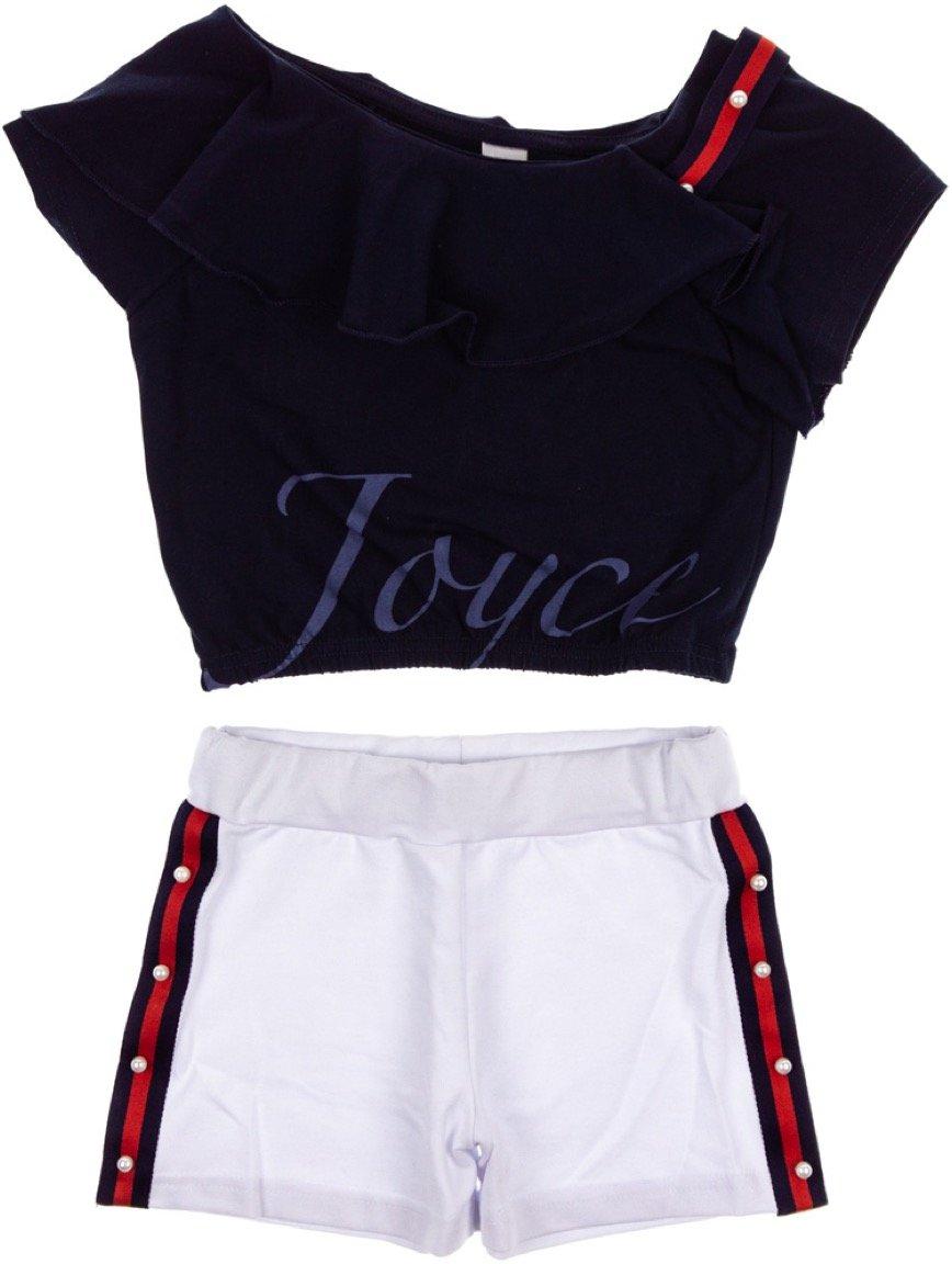 Joyce παιδικό σετ μπουστάκι-παντελόνι σορτς «The Chic»