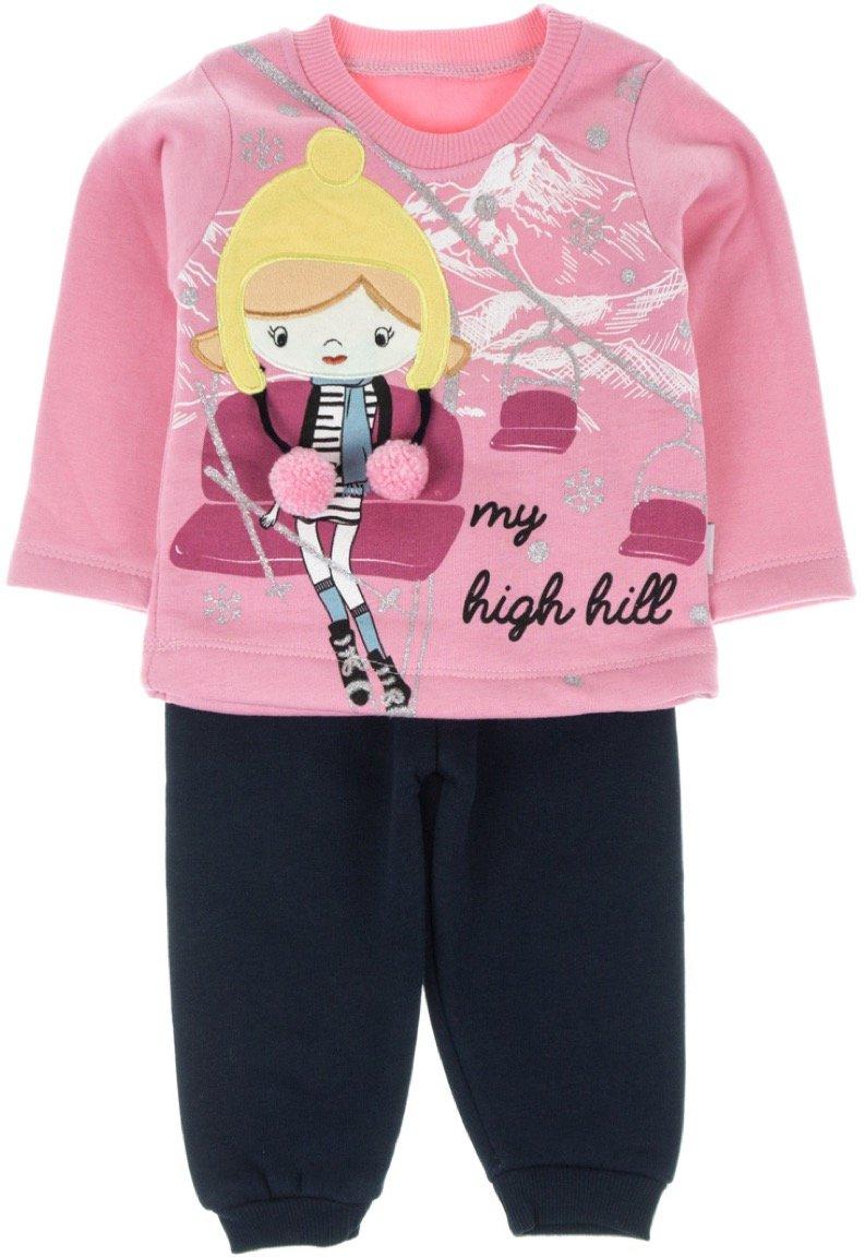 Eymus βρεφικό σετ φόρμα μπλούζα-παντελόνι «High Hill»