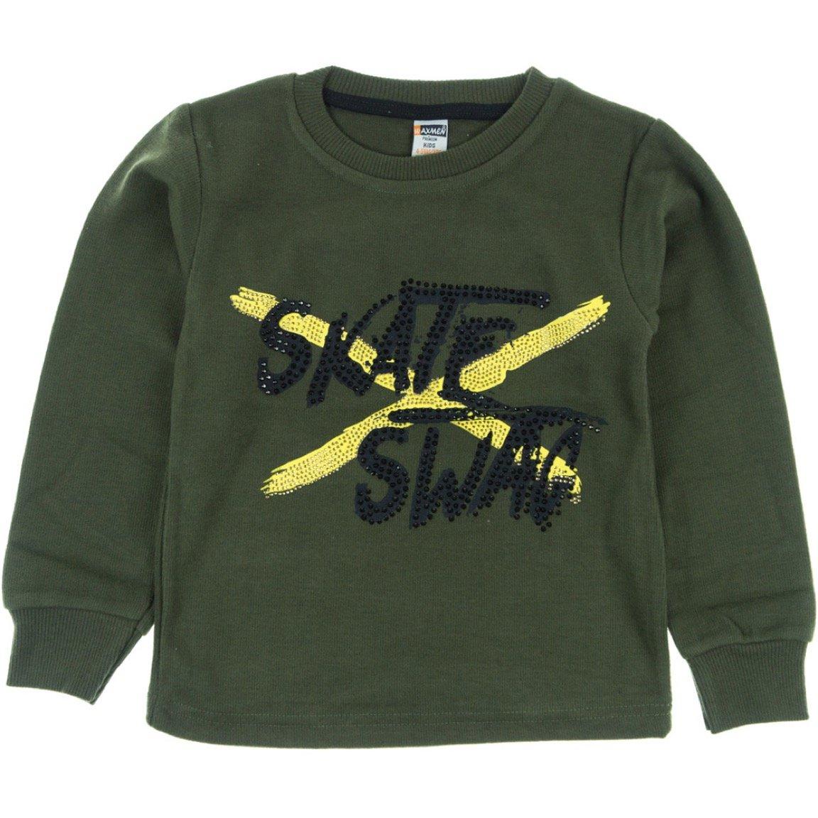 Waxmen παιδική μπλούζα «Green Skate Swag»