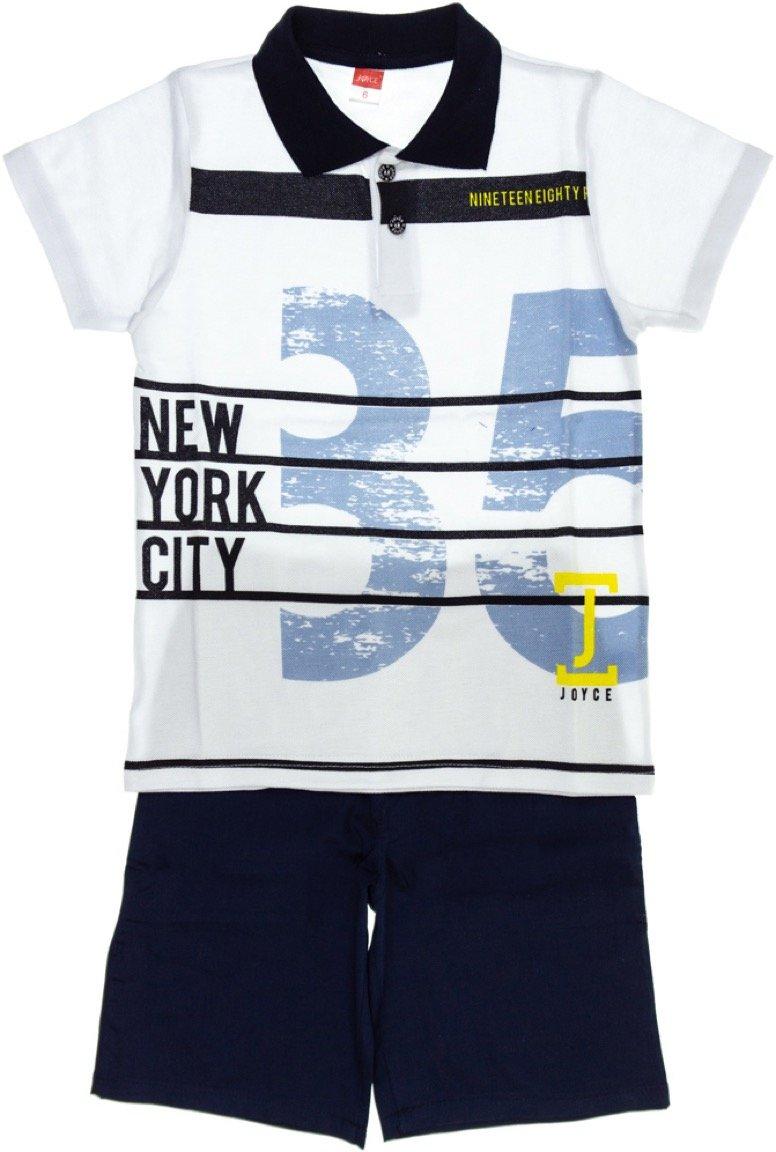 Joyce παιδικό σετ μπλούζα-παντελόνι βερμούδα «NY City»