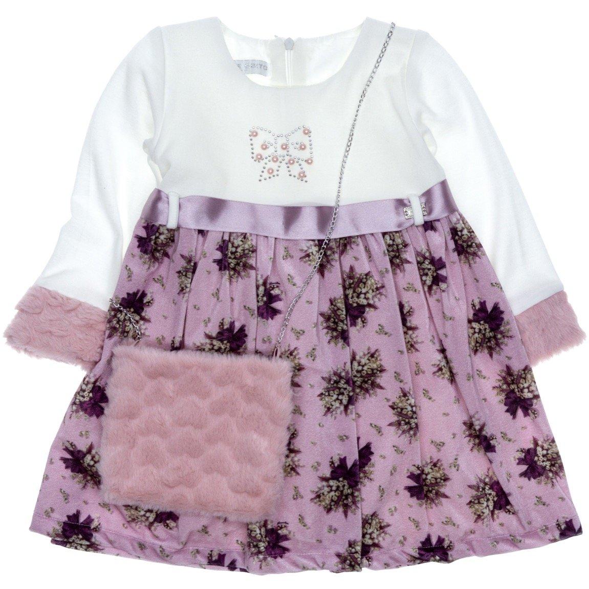 Εβίτα παιδικό αμπιγιέ φόρεμα «Bouquet»