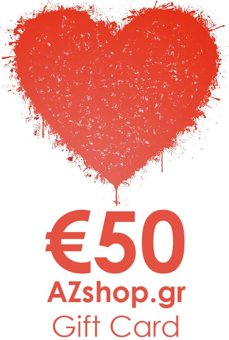 Δωροκάρτα AZshop Gift Card €50