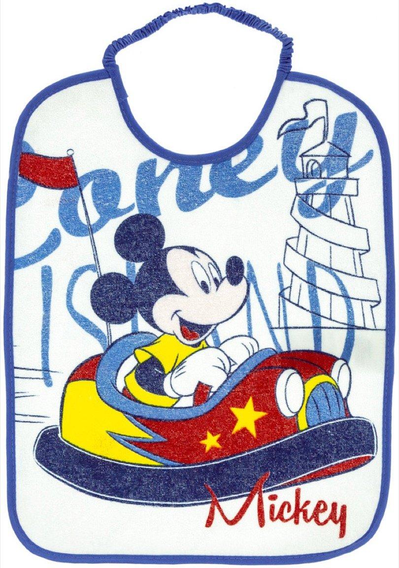 Disney βρεφική σαλιάρα φαγητού «Mickey's Blue Car»