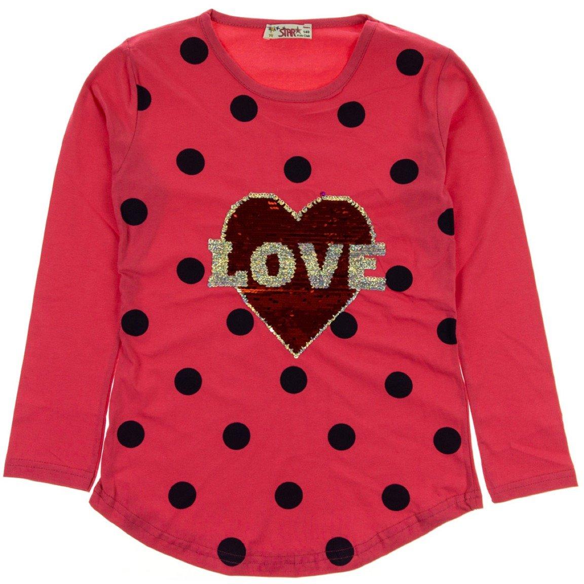 Tomurcuk παιδική εποχιακή μπλούζα «Love in the Heart»