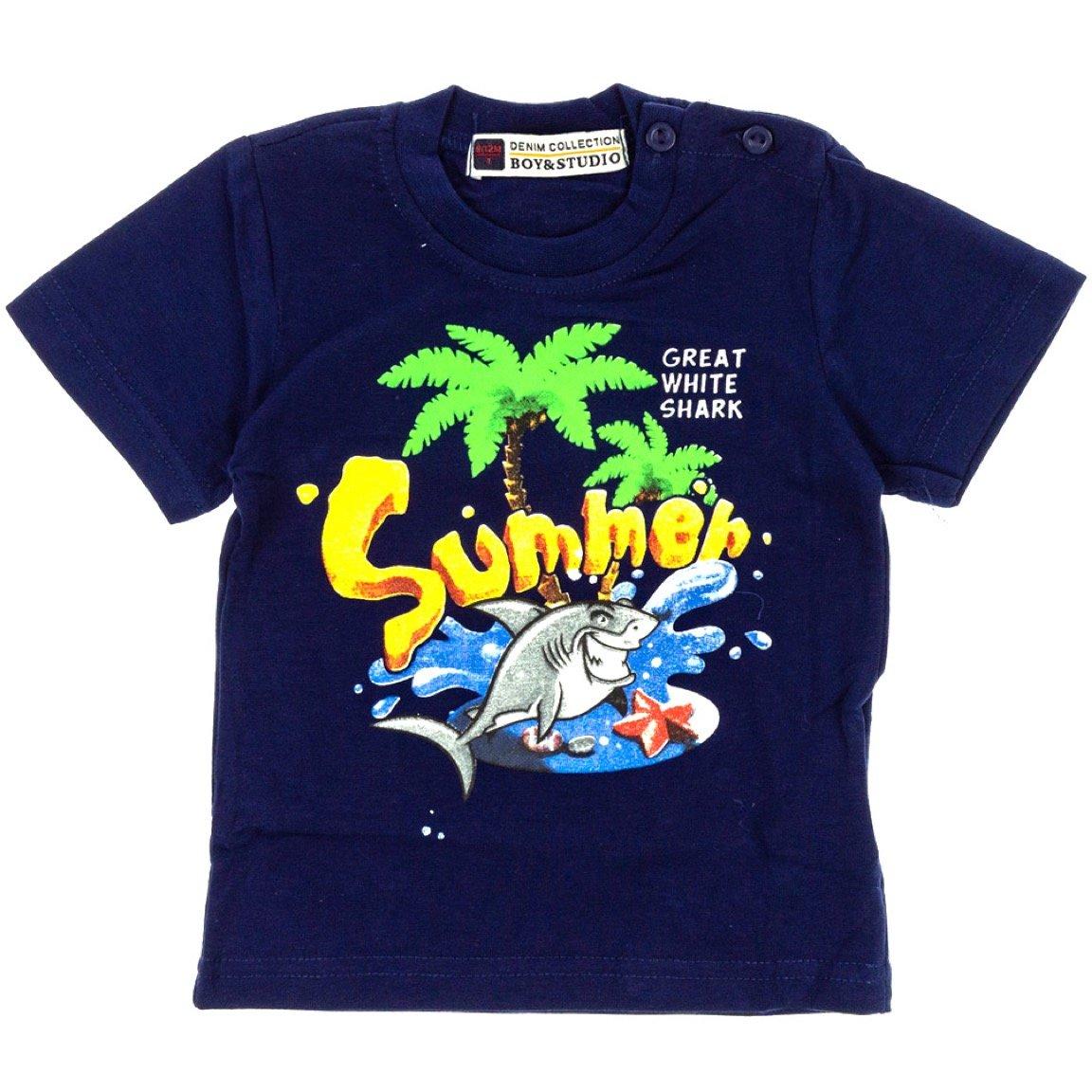 Boy & Studio παιδική μπλούζα «Blue Summer»