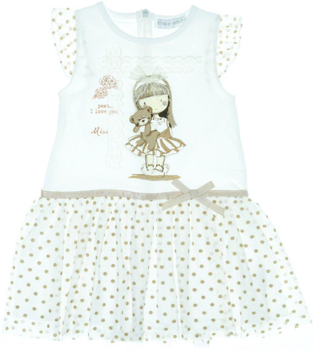 Εβίτα παιδικό φόρεμα «I Love You»