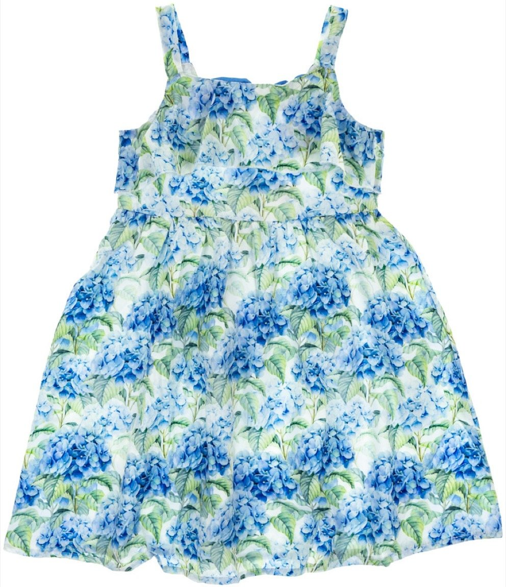Ativo παιδικό φόρεμα «Blue Hydrangea»