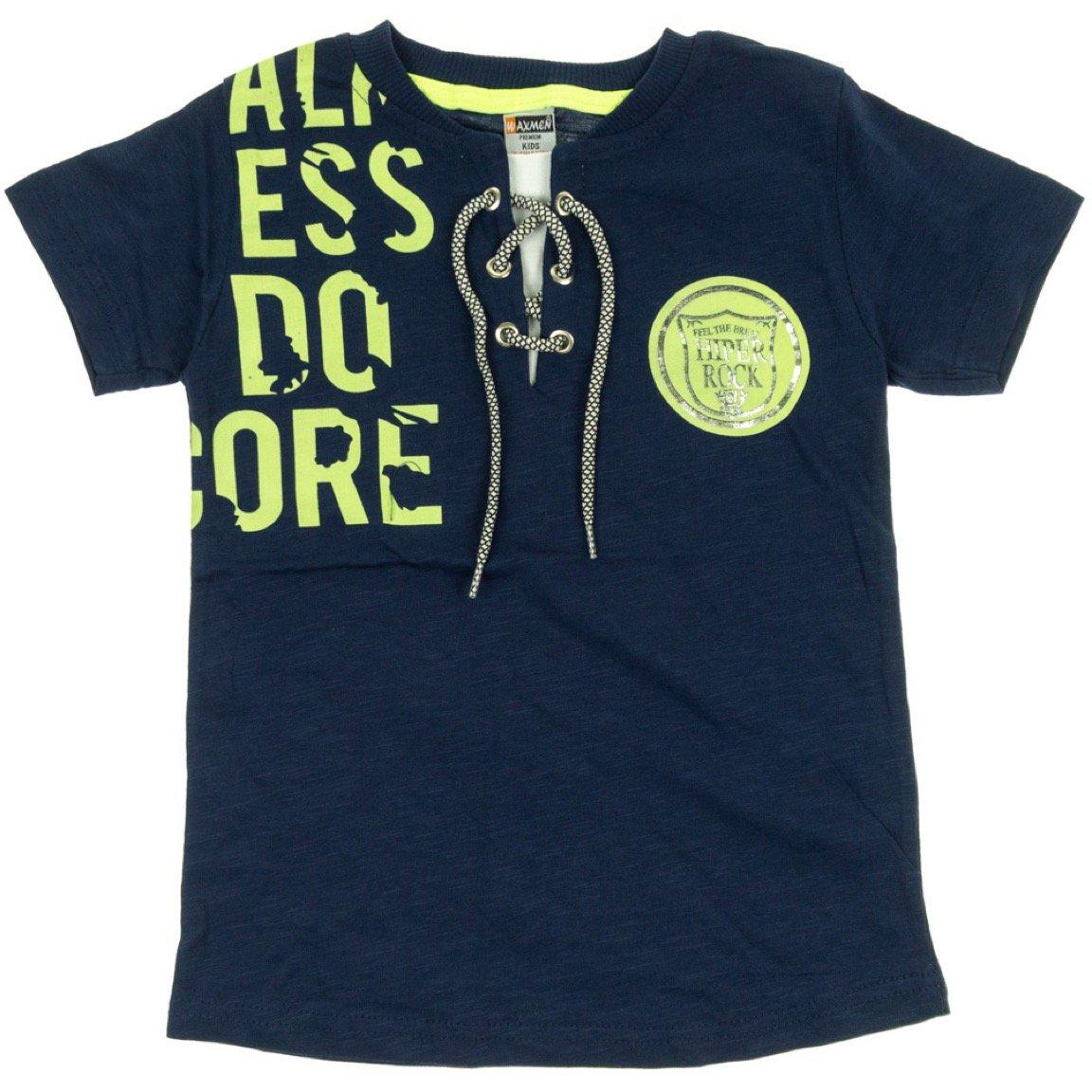 Waxmen παιδική μπλούζα «Feel the Beat in Blue»