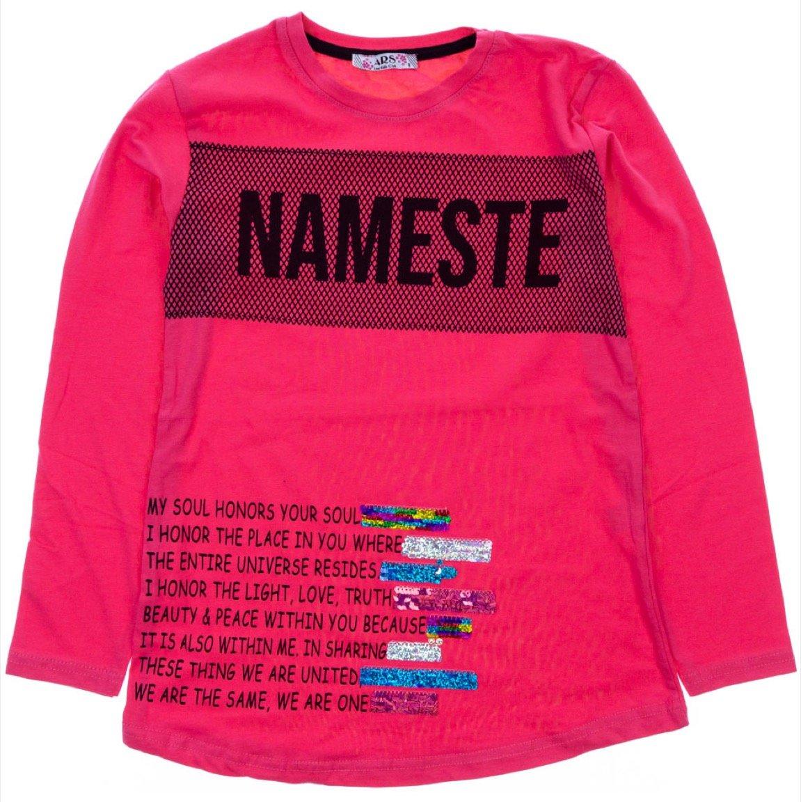 ARS παιδική εποχιακή μπλούζα «Coral Nameste»