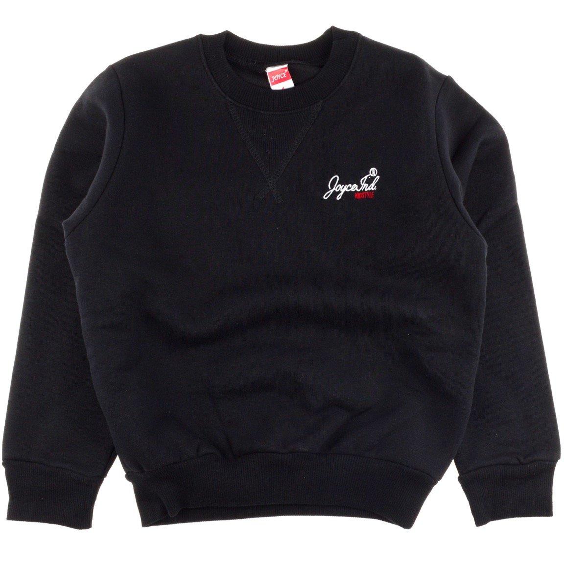 Joyce παιδική μπλούζα φούτερ «Black Style»