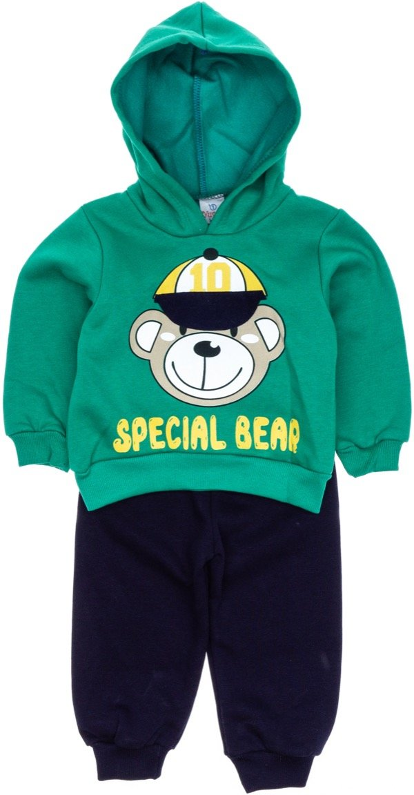 Yuvaci παιδικό σετ φόρμα μπλούζα-παντελόνι «Special Bear»