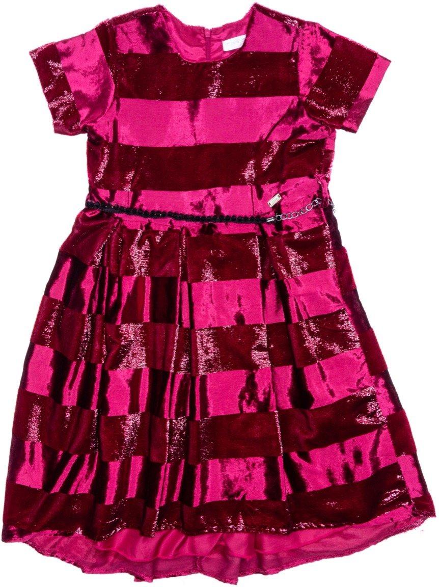Εβίτα παιδικό αμπιγιέ βελουτέ φόρεμα «Elegant Velour»