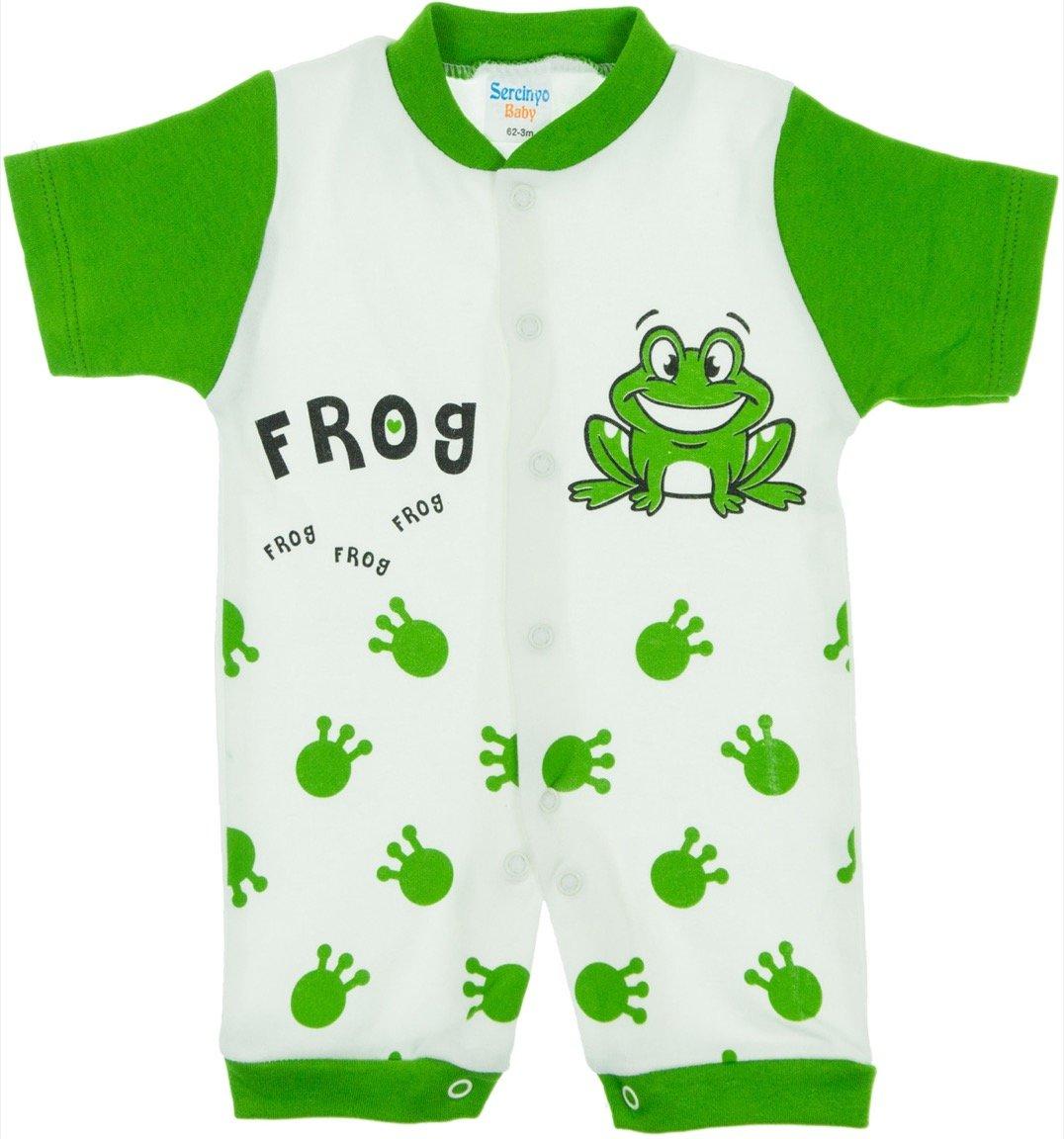 Sercinyo βρεφικό φορμάκι «Green Frog»