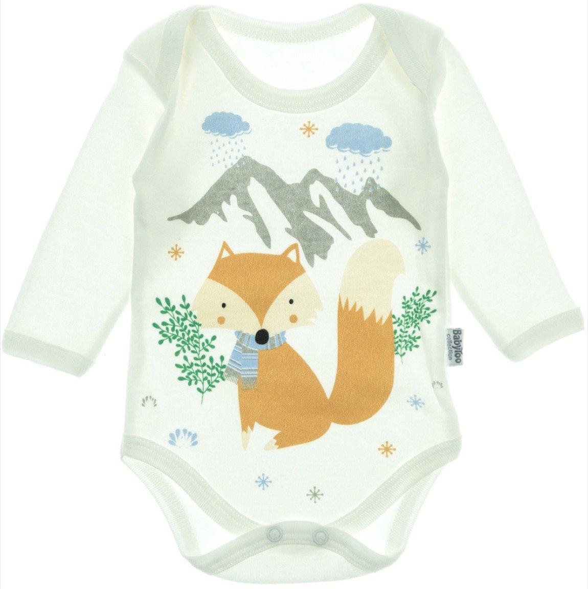 BabyToo βρεφικό κορμάκι «Blue Fox»