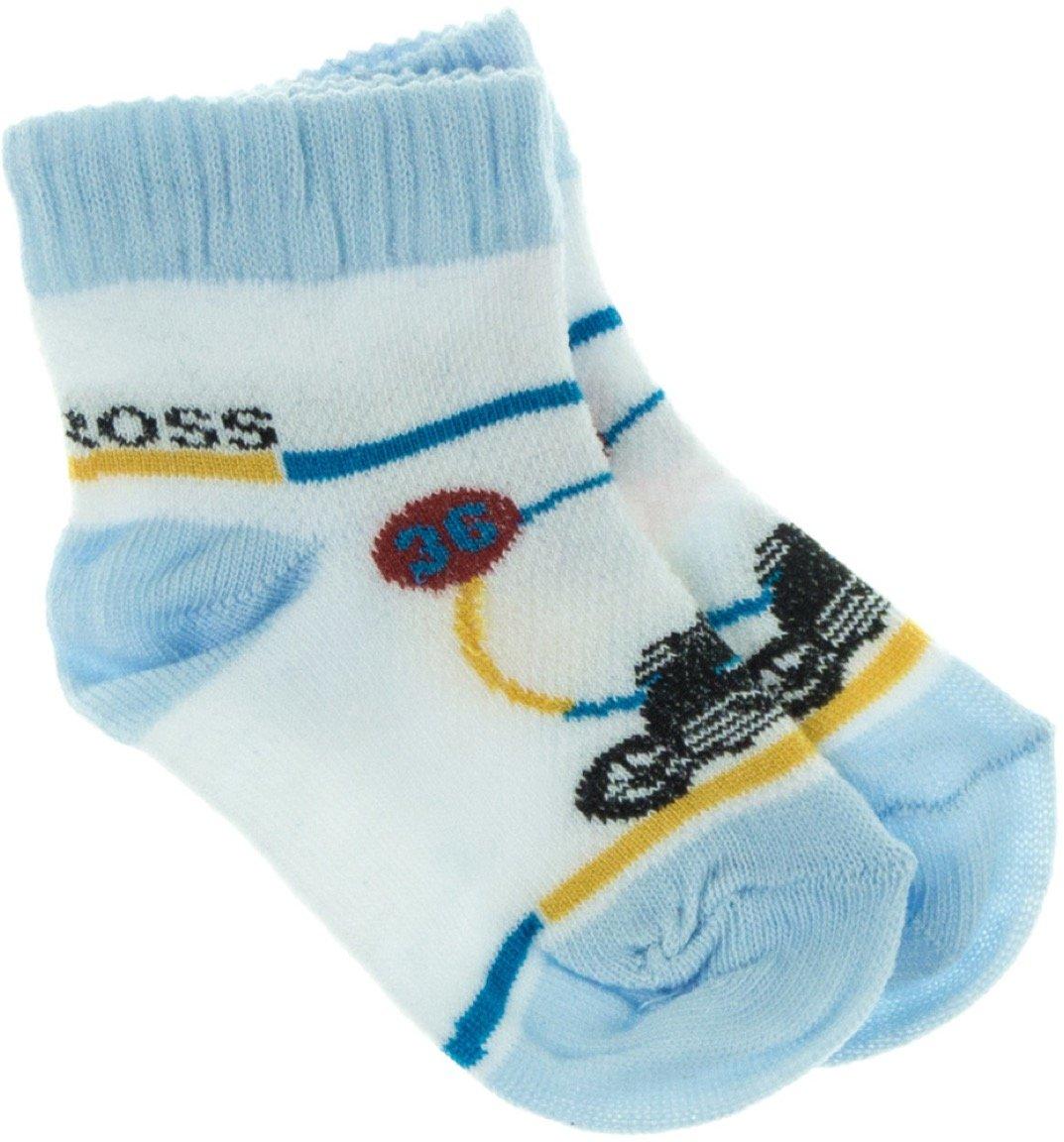 Bella Calze παιδικές κάλτσες «Blue Motocross»