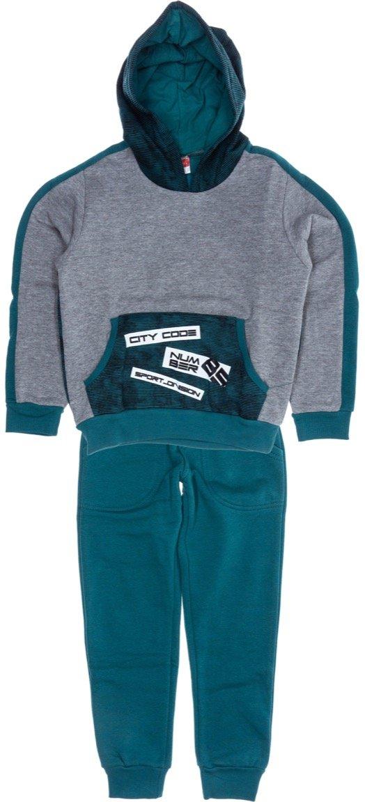 Joyce παιδικό σετ φόρμα μπλούζα-παντελόνι «The City Code»