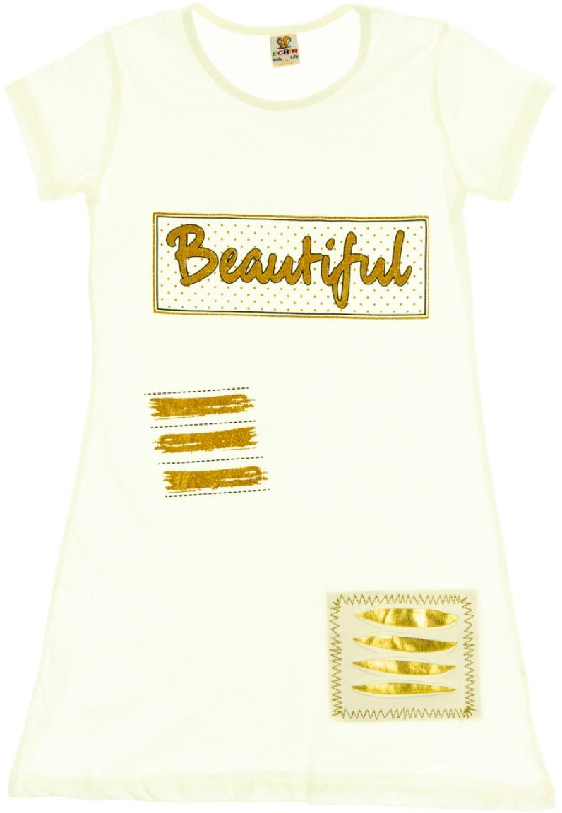 Ecrin παιδικό φόρεμα «Golden Beautiful»