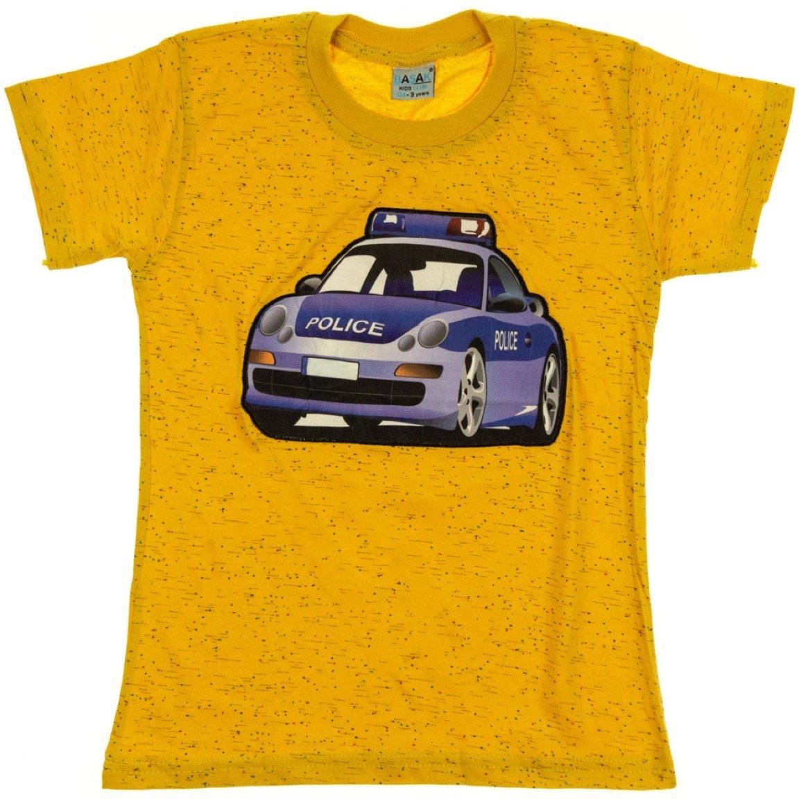 Basak παιδική μπλούζα με φωτάκια «Yellow Squad»