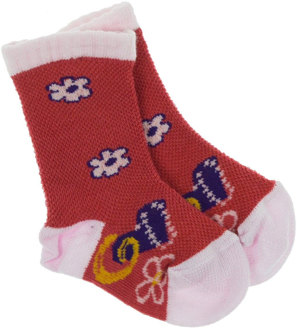 Lateks παιδικές κάλτσες «Beautiful Red Flowers»