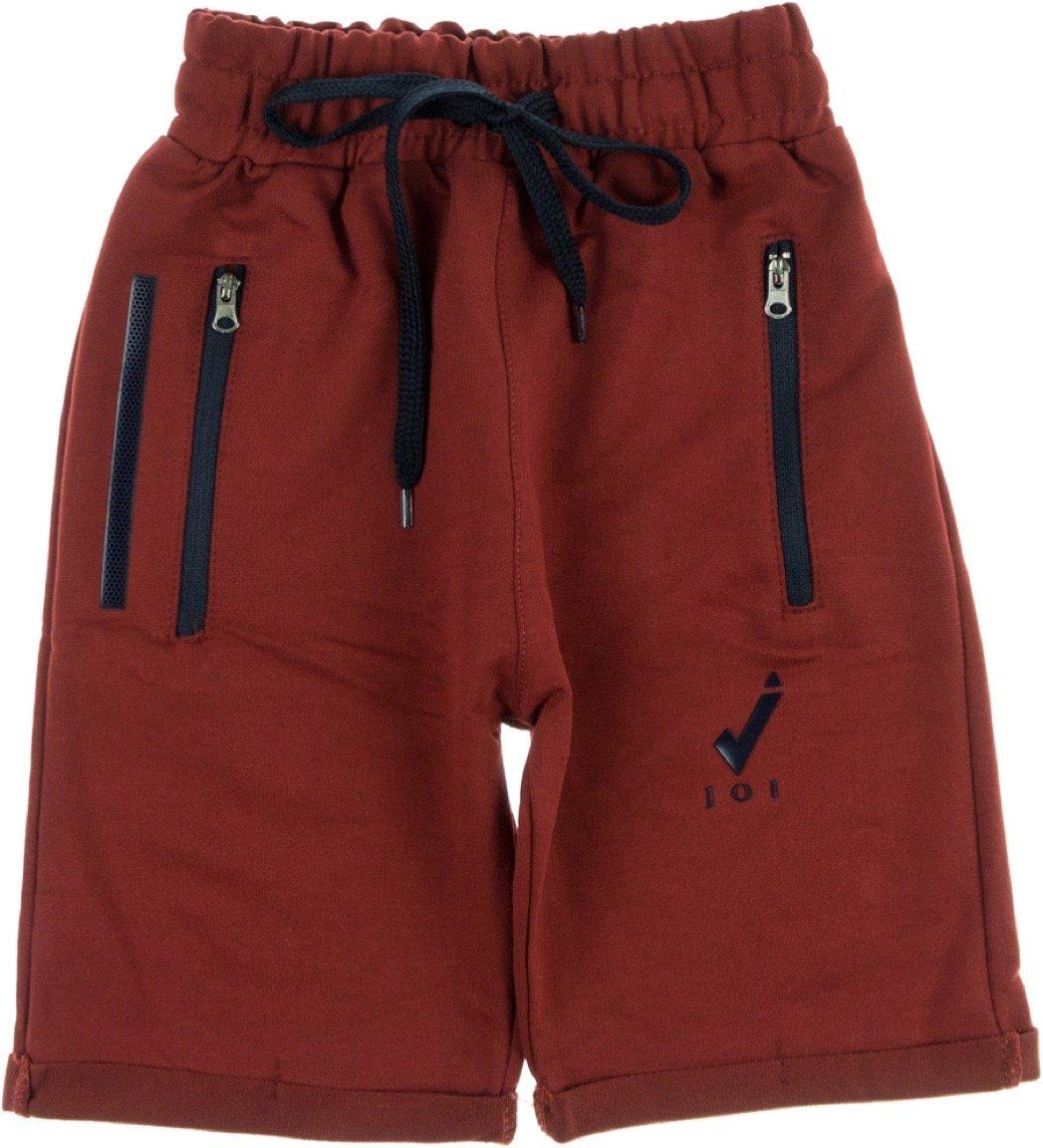 Joi παιδικό παντελόνι βερμούδα «Red Casual»