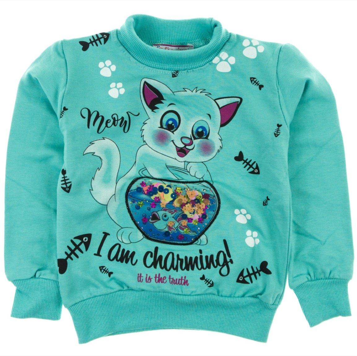 Gulnur παιδική μπλούζα φούτερ «Charming»