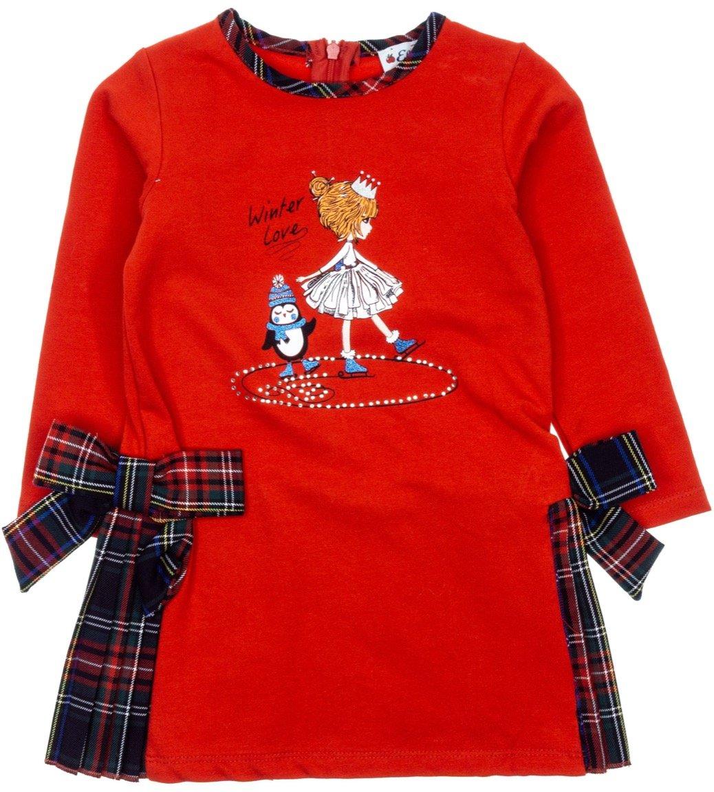 Εβίτα παιδικό φόρεμα «Winter Love»