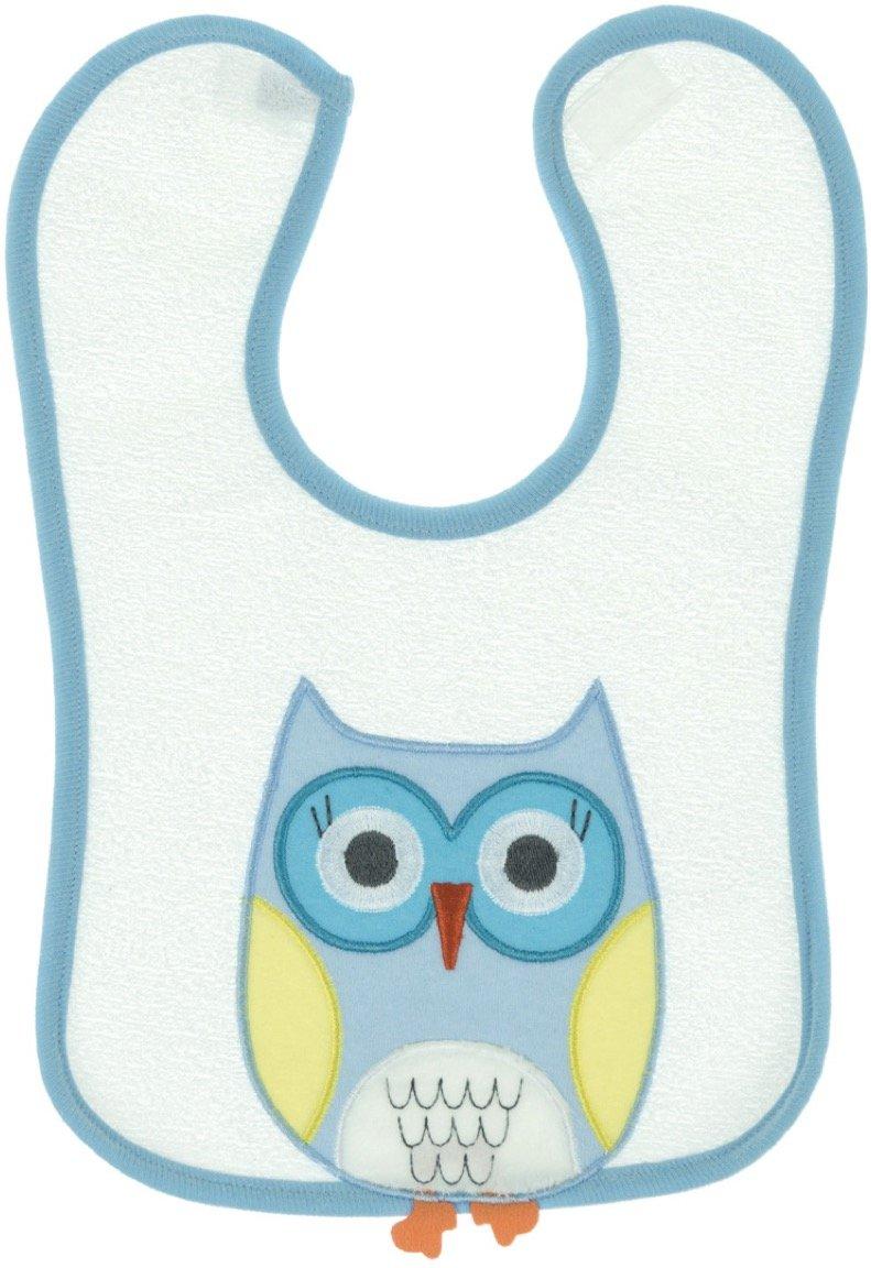 Kedicik βρεφική σαλιάρα φαγητού «Blue Owl»