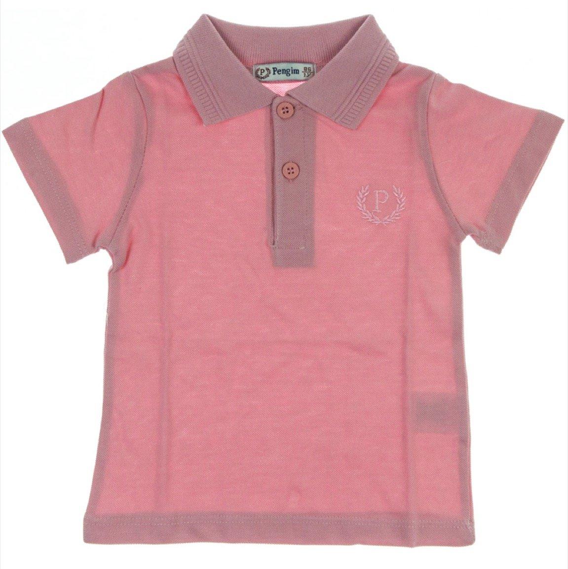 25ea8c5ac766 Pengim παιδική μπλούζα «Pink Polo Line» - b2b.AZshop.gr