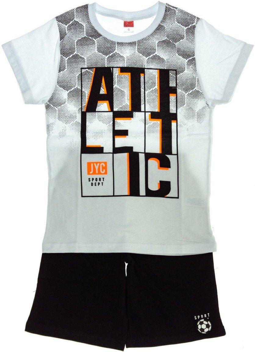 Joyce παιδικό σετ μπλούζα-παντελόνι σορτς βερμούδα «Athletic»