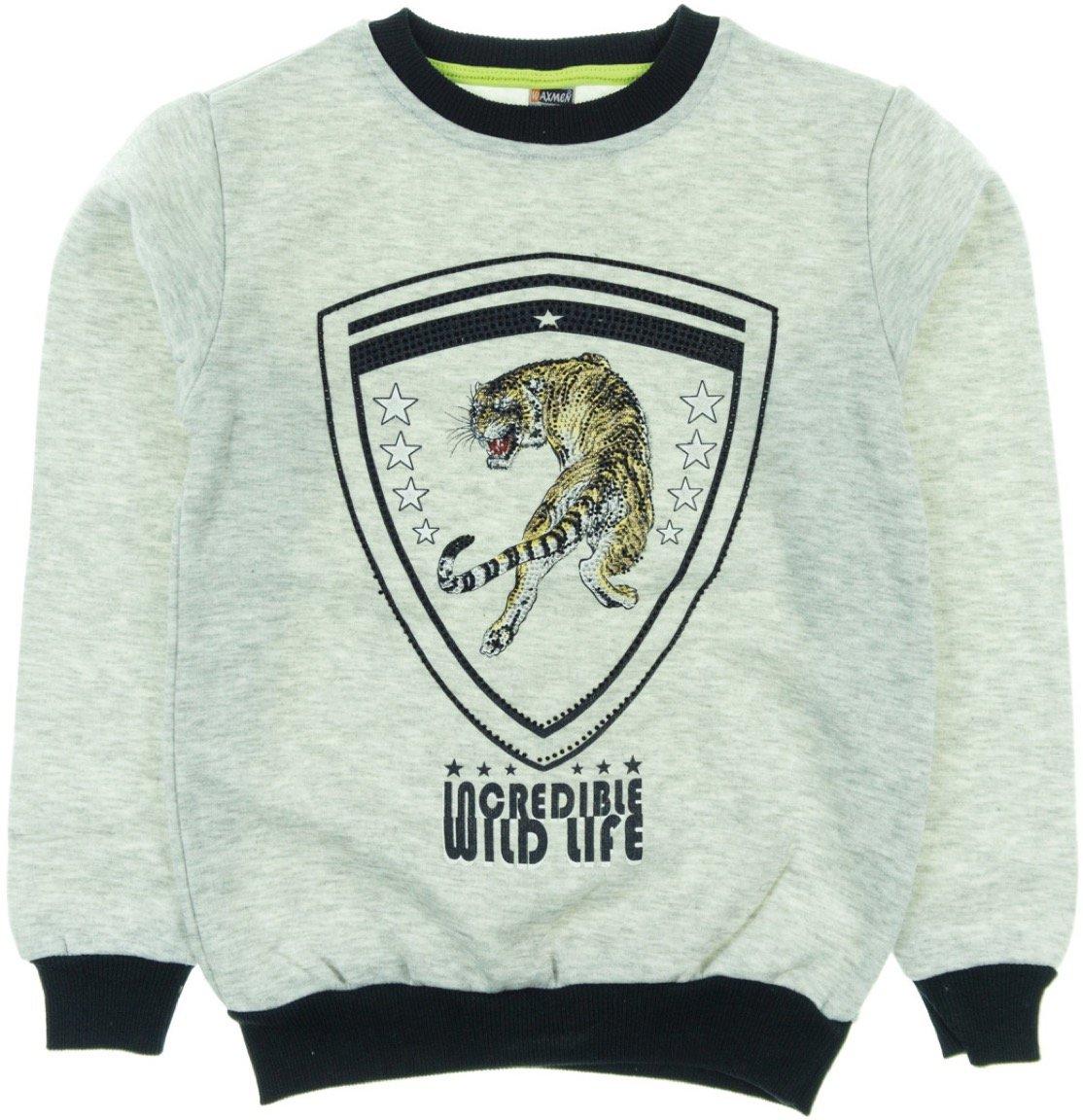 Waxmen παιδική φούτερ μπλούζα «Wild Life»