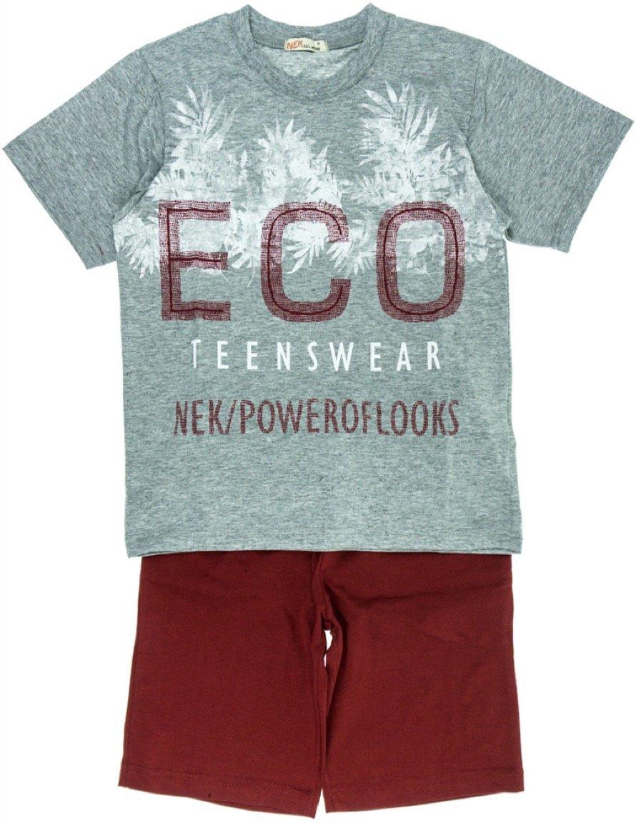 Nek παιδικό σετ μπλούζα-παντελόνι σορτς «Eco»
