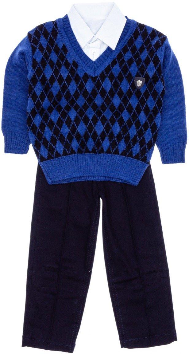 Palermo παιδικό αμπιγιέ σετ μπλούζα, πουκάμισο, παντελόνι «My Jumper»